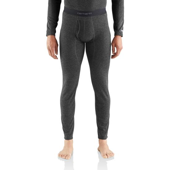 Carhartt Heavyweight Poly Wool Thermal Bottoms | Charcoal Grey