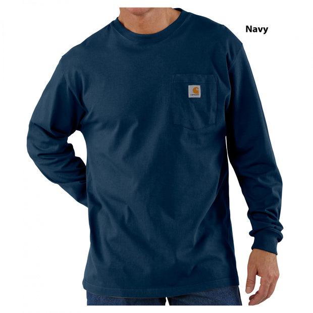 Carhartt Long Sleeve Pocket Tee | Multiple Colors