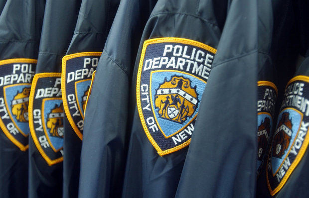 NYPD New Style Winter Jacket with Screenprint & Patches