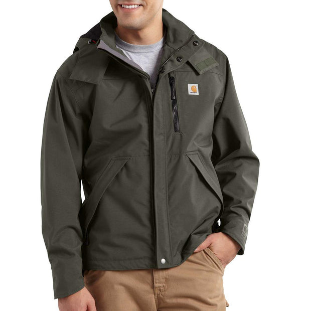 Carhartt Shoreline Heavyweight Waterproof Jacket | Black or Olive