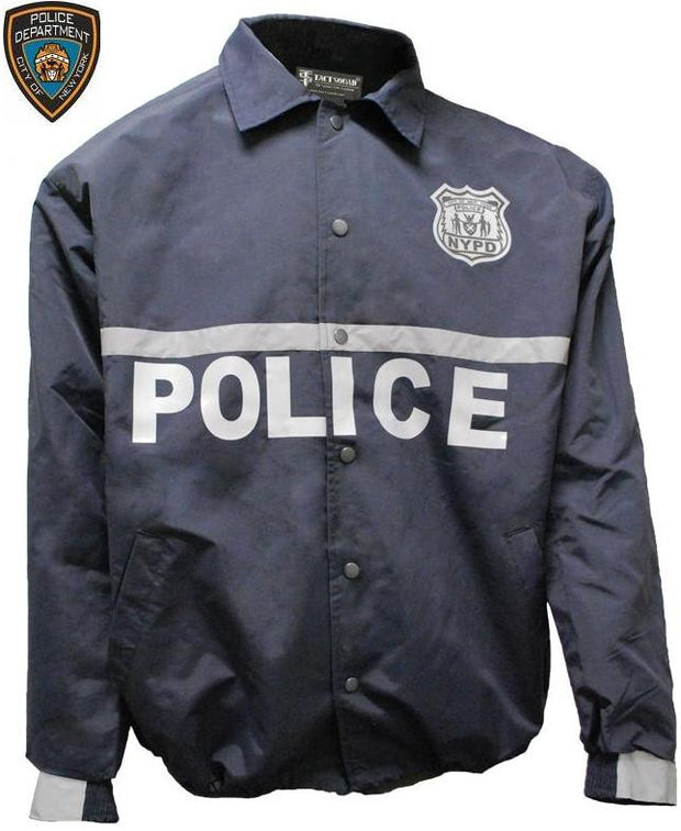 NYPD Raid Jacket with Screen & Patches