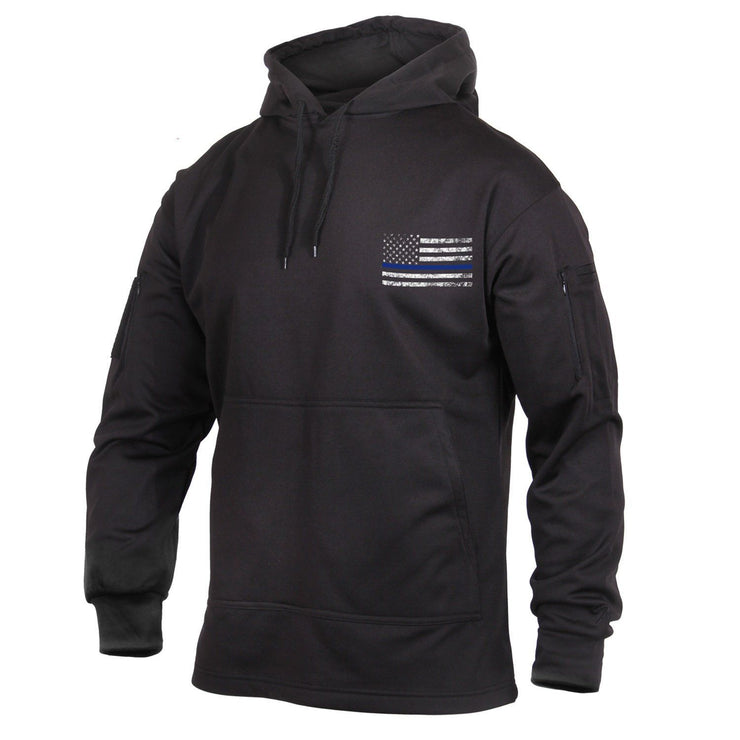 Thin Blue Line Conceal Carry Hooded Sweatshirt | Multiple Colors