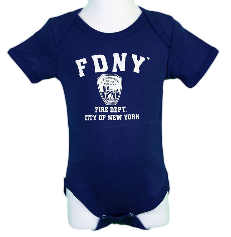 Officially Licenced FDNY Onesie | Navy