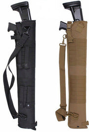 Tactical Shotgun Carry Holster Scabbard | Black or Coyote