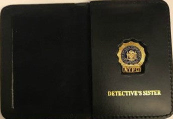 Mini Badge Case | Mini Detective Cutout