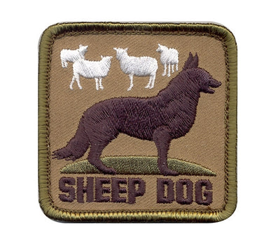 Sheep Dog Patch Velcro