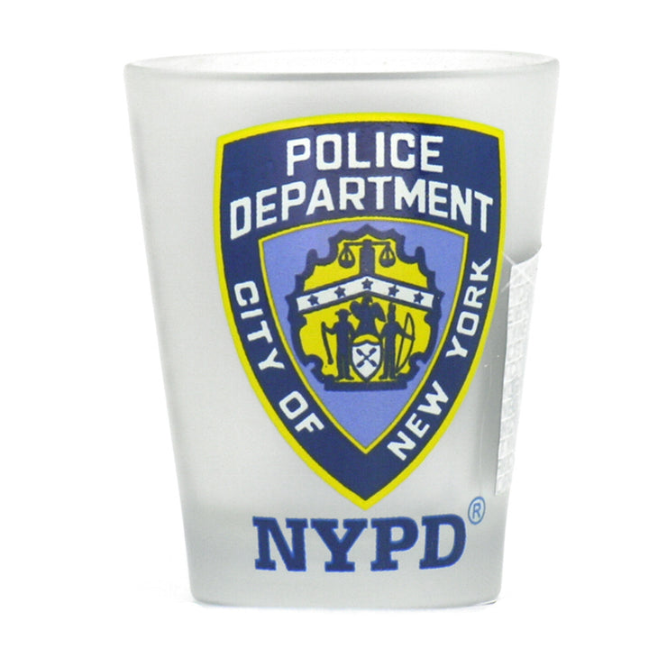 NYPD Shot Glass - Clear