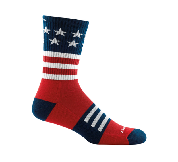 Captains Stripe Micro Crew Light Cushion Sock
