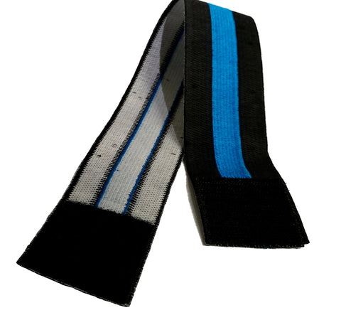Mourning Armband With Velcro | Blue Line