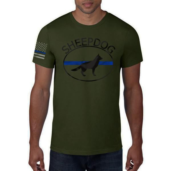 "Thin Blue Line ""SHEEP DOG"" T-Shirt"