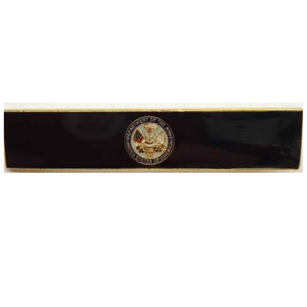 Black US Army Breast Citation Bar