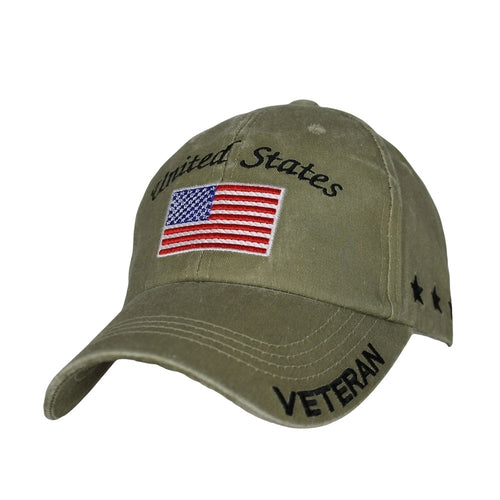 U.S. Military Veteran Hat | Khaki