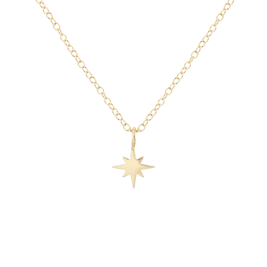 Starburst Charm Necklace