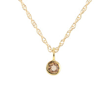 Load image into Gallery viewer, Gemstone Charm Necklace - Citrine