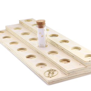 Bleacher Display with Inset - 20 Bottles