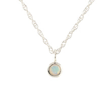 Load image into Gallery viewer, Gemstone Charm Necklace - Opal