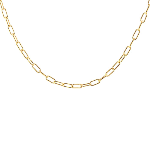 Thick Drawn Cable Chain Choker