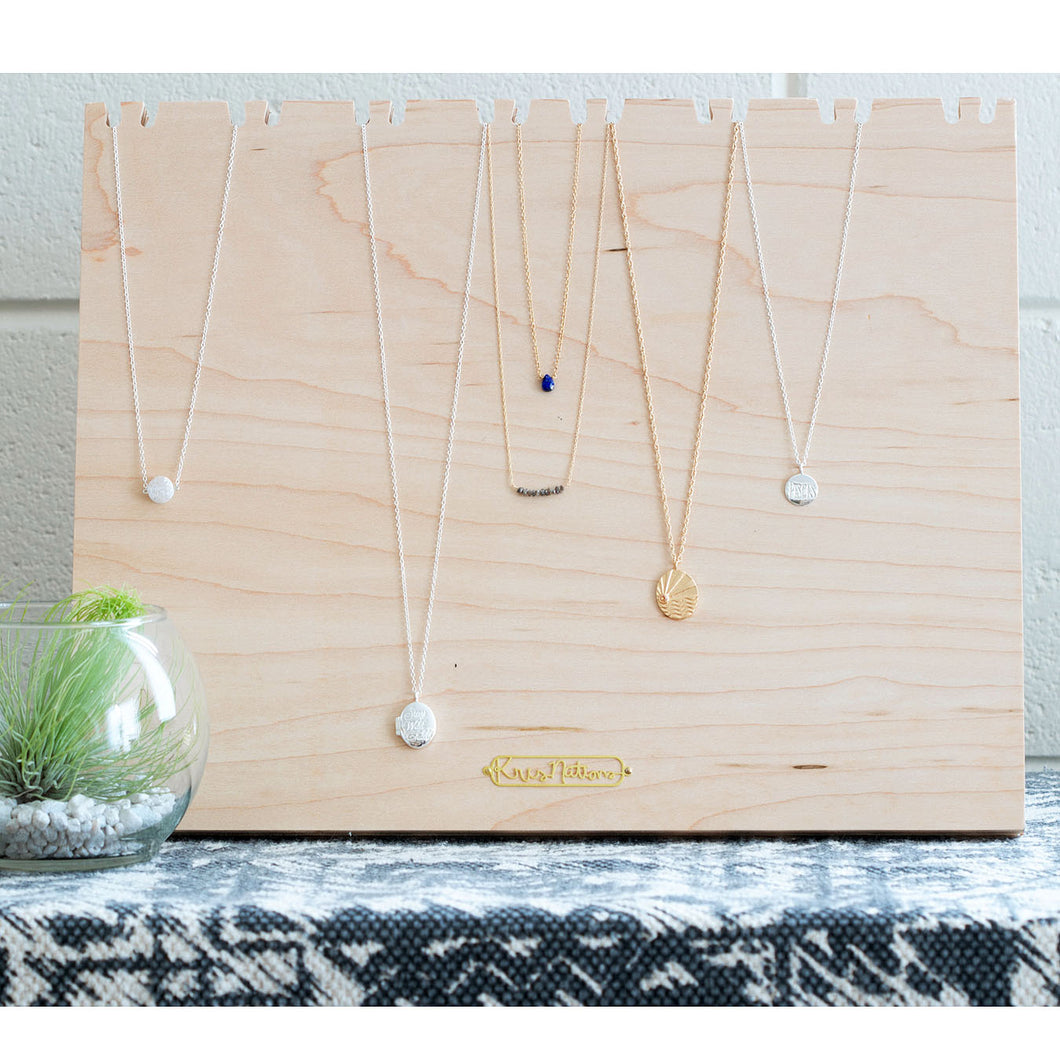 Large Necklace Display