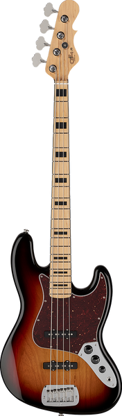 G&L - Tribute JB - 3-Tone Sunburst