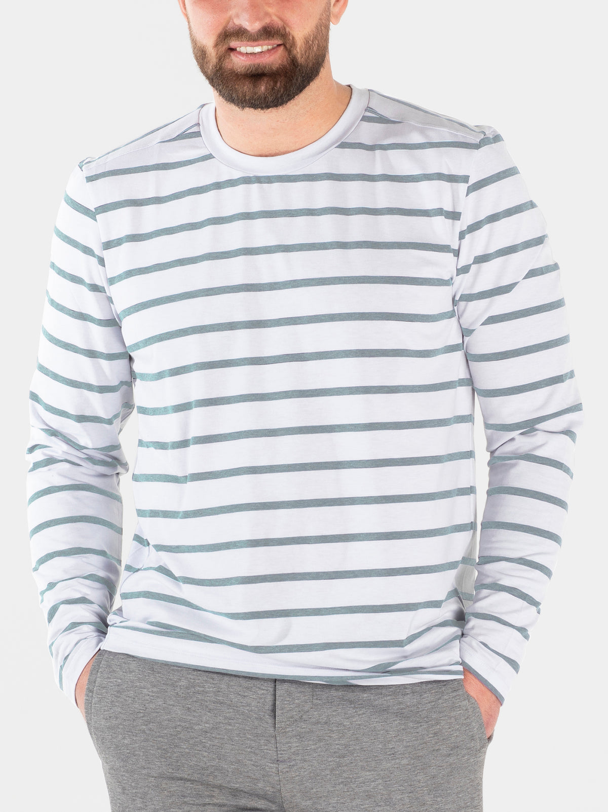 Men's Mission Long Sleeve Crew