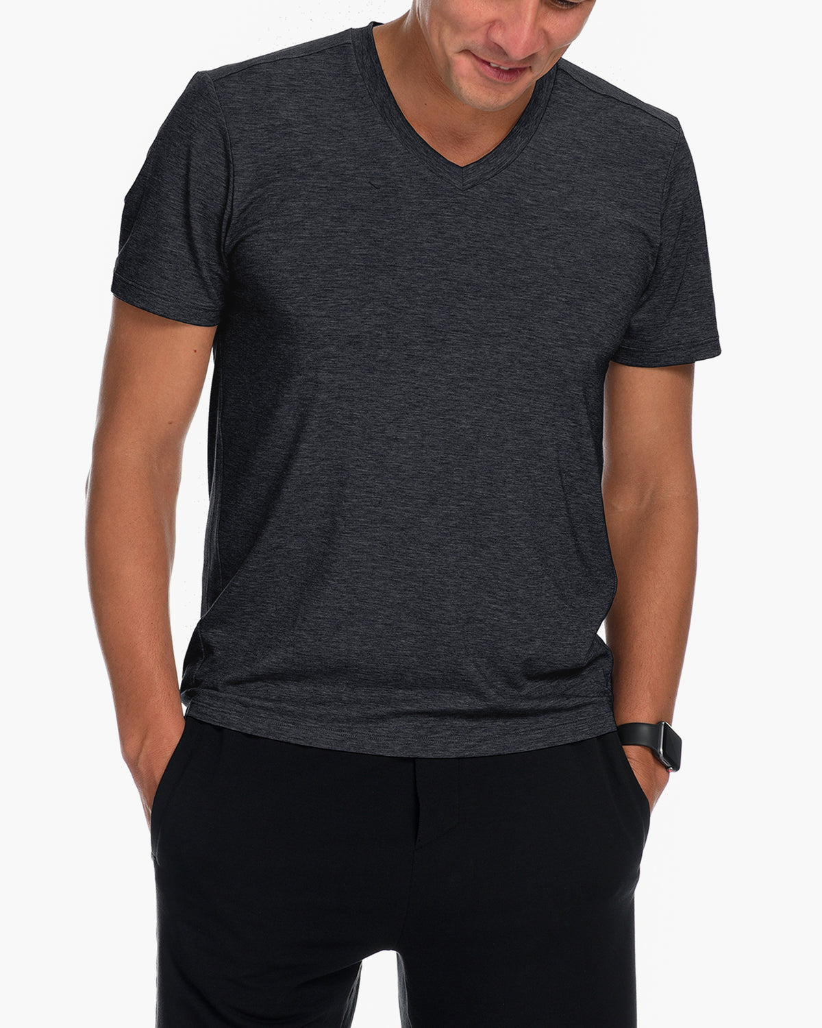 Men's Mission Short Sleeve V-Neck