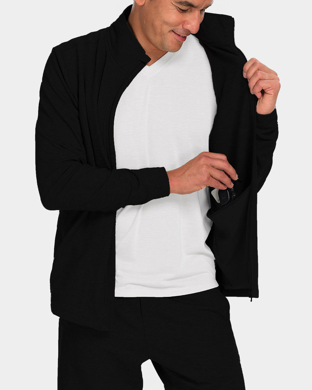 Men's Avon Lounge Zip Up