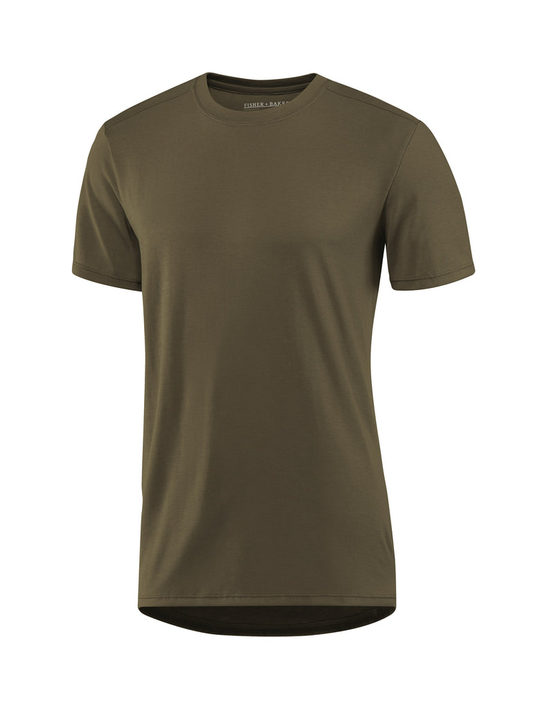 Fisher and Baker Men's Everyday Cashmere Short Sleeve Crew