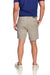 Men's 2-way stretching and breathable cotton blend Grayson Shorts in Khaki back welt pockets with snap closure detail