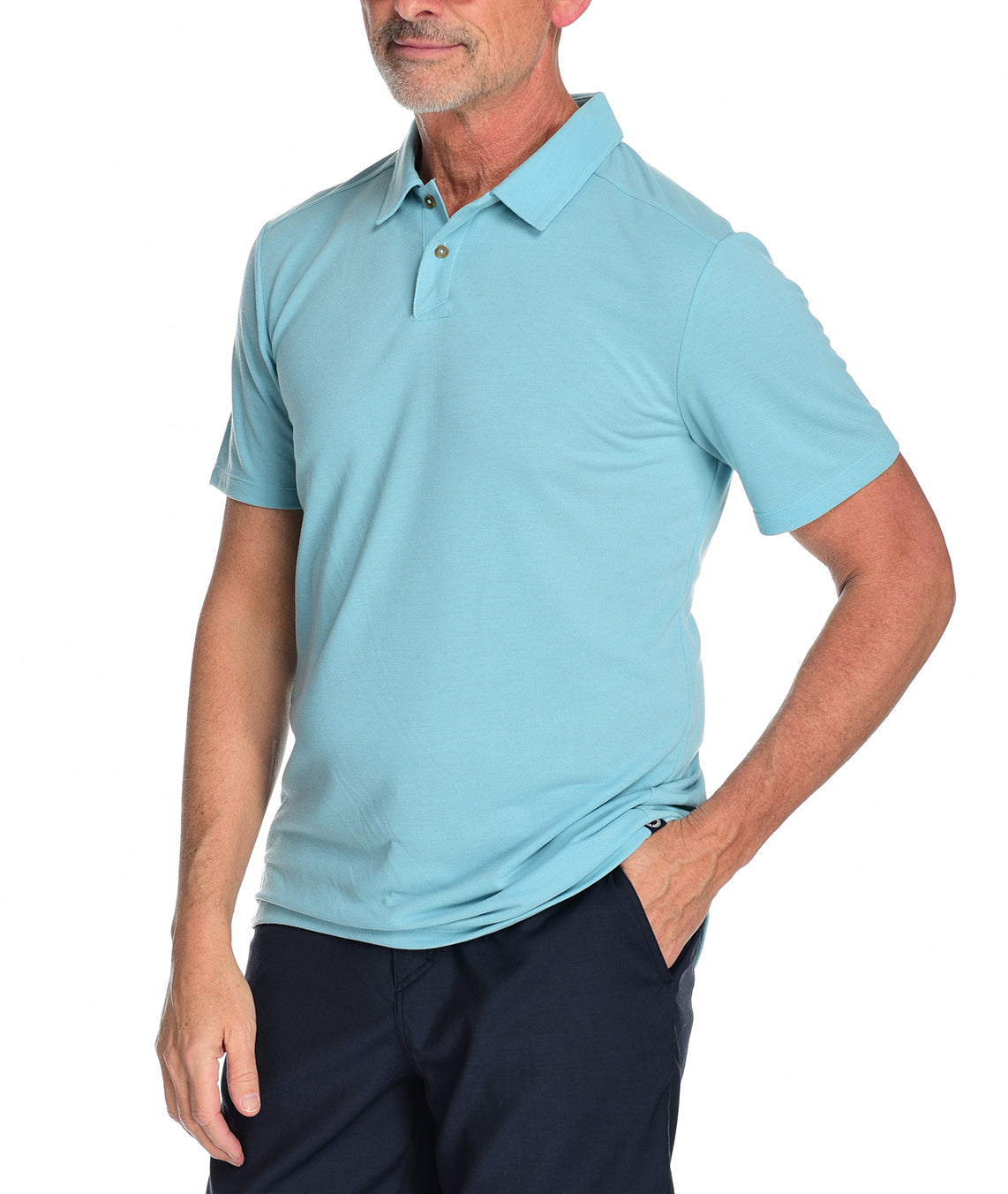 Men's Kent Polo by Fisher + Baker Marina