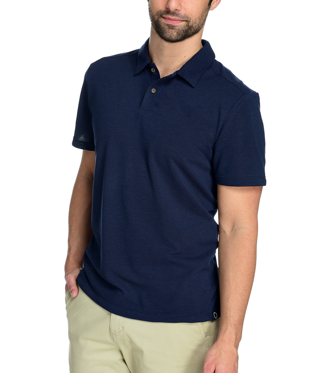 Men's Kent Polo by Fisher + Baker Navy