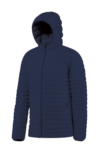 Men's Hooded Down Insulated Jacket the Passage by Fisher + Baker Navy
