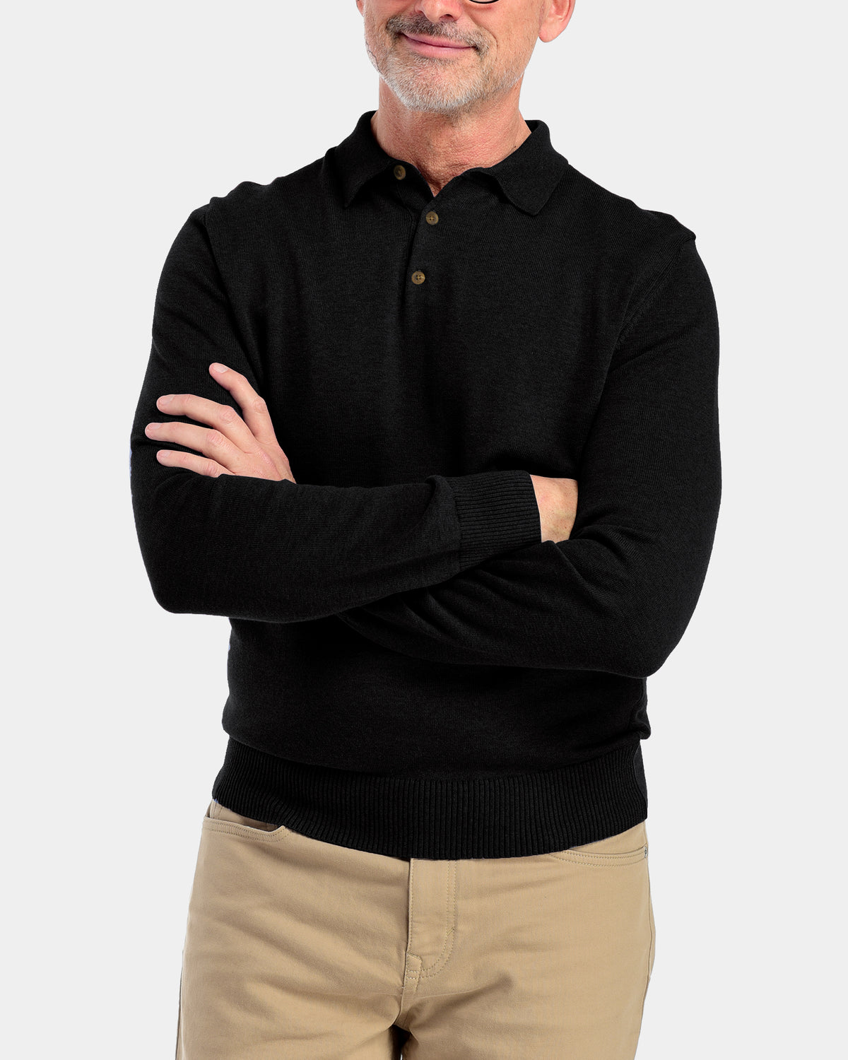 Men's Arthur Polo Sweater