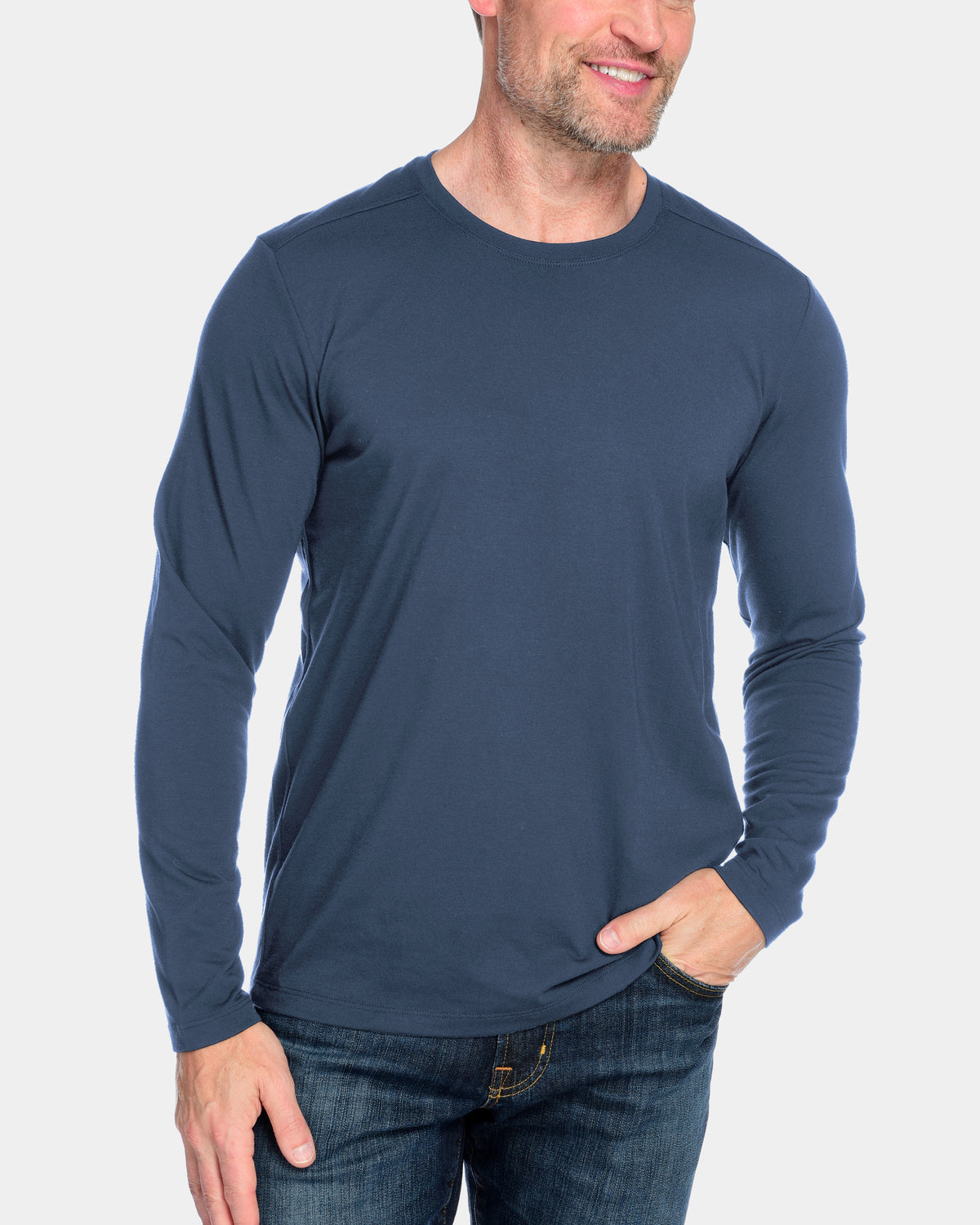 Men's Everyday Cashmere Long Sleeve Crew