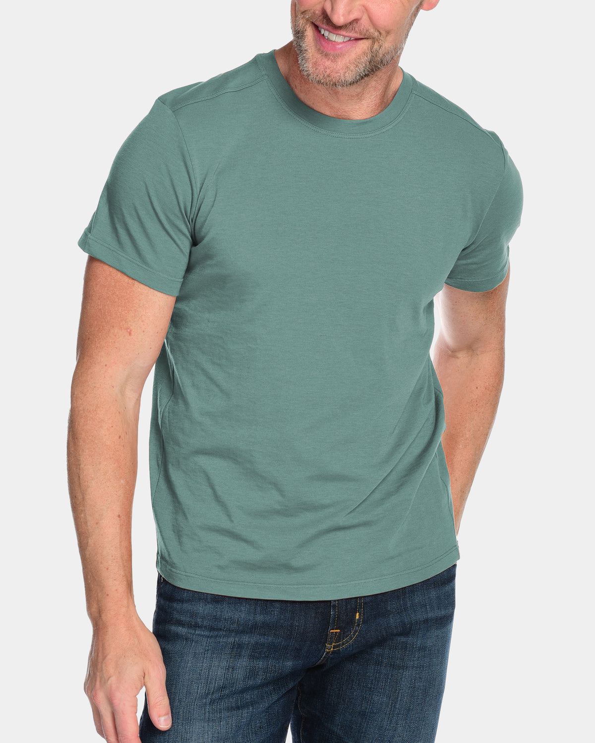 Men's Everyday Cashmere Short Sleeve Crew