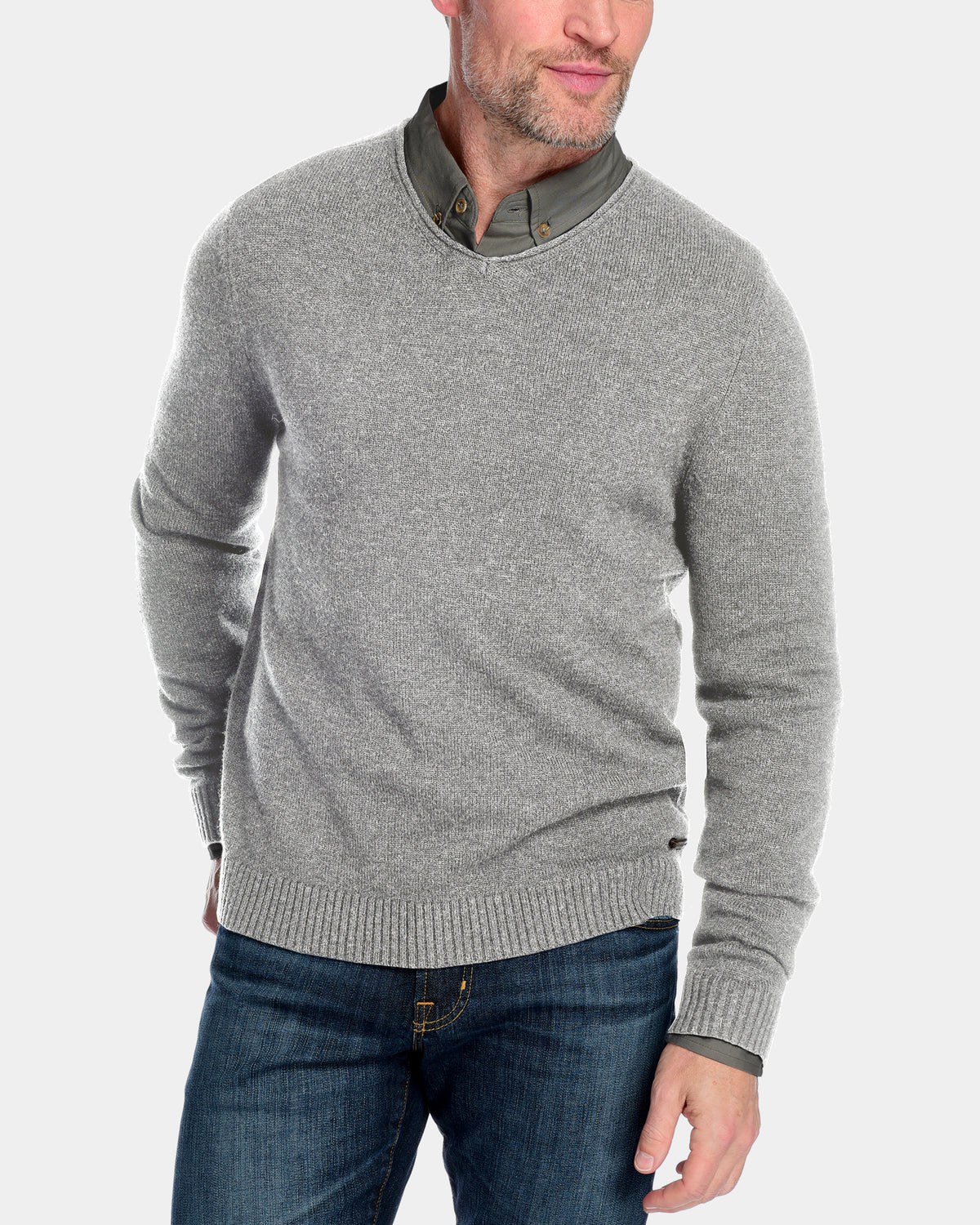 Men's Wentworth V-Neck Sweater