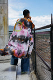 Seek What You Believe Tie Dye Kimono