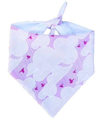 Cloud 9 Pink Bandana
