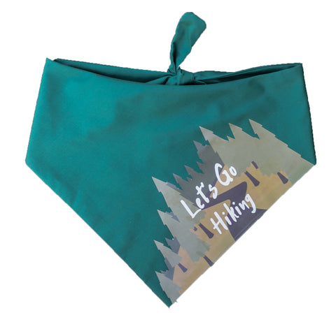 Let's Go Hiking Bandana