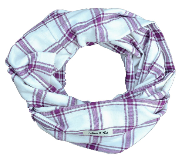 Violet Infinity Scarf