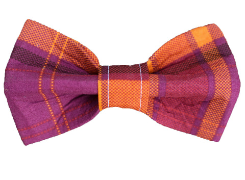 Autumn Plaid Bow Tie