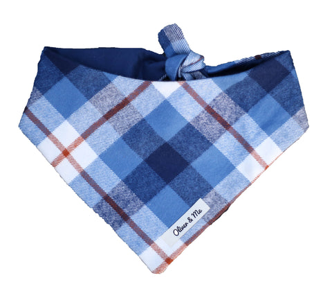 Wyatt Plaid Bandana