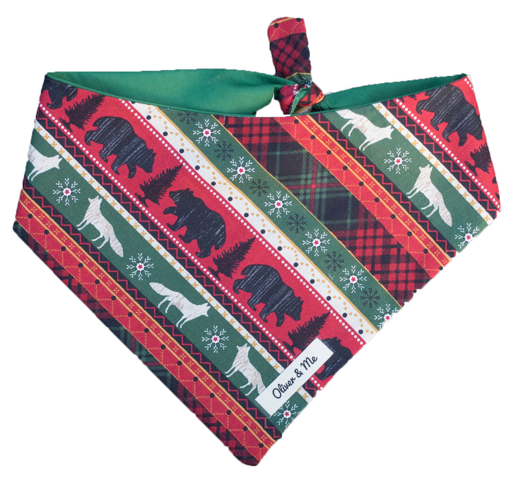 Wild Winter Bandana
