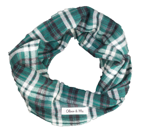 Winter Green Infinity Scarf