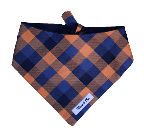 Halloween Plaid Bandana