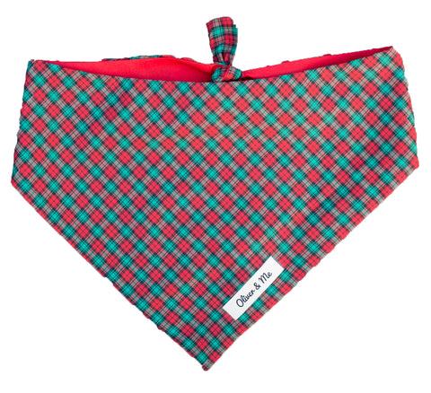 Holiday Plaid Bandana