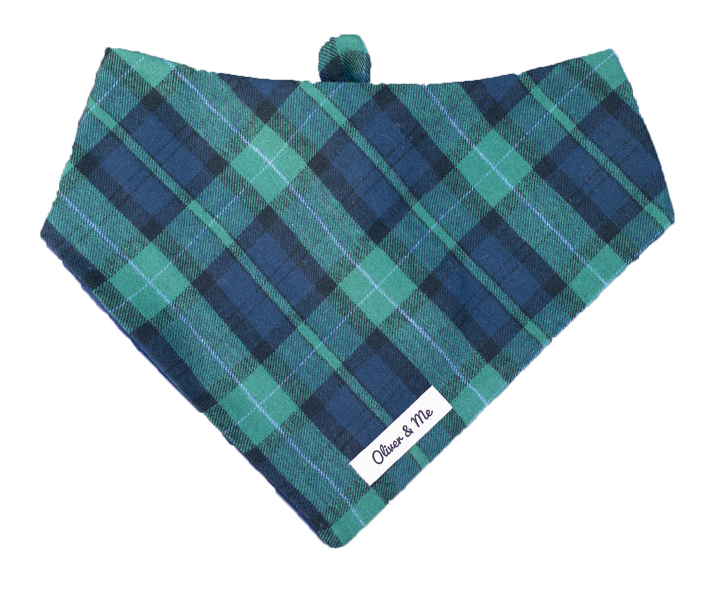 Royal Wales Plaid Bandana