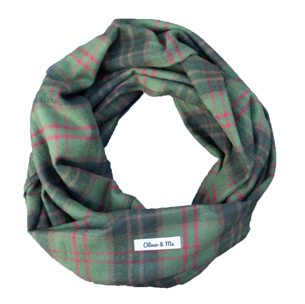 Deck the Halls Infinity Scarf