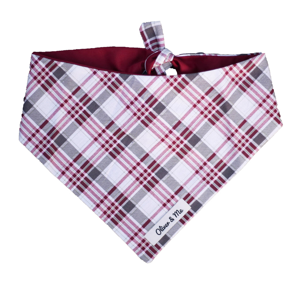 Scarlett Plaid Bandana