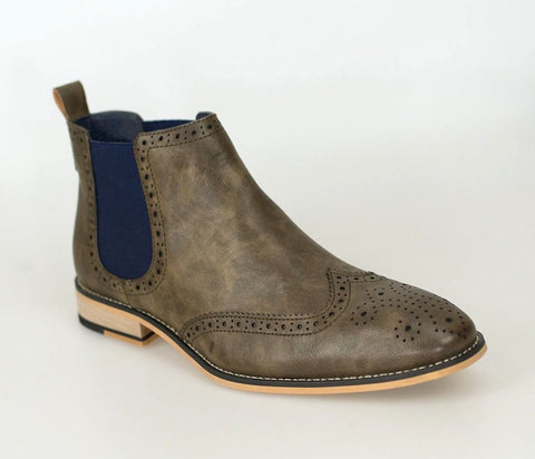 Hound Brown Boots - Mens Tweed Suits