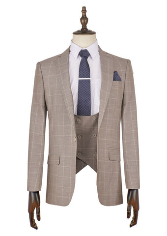 Andrea Check Suit - Mens Tweed Suits